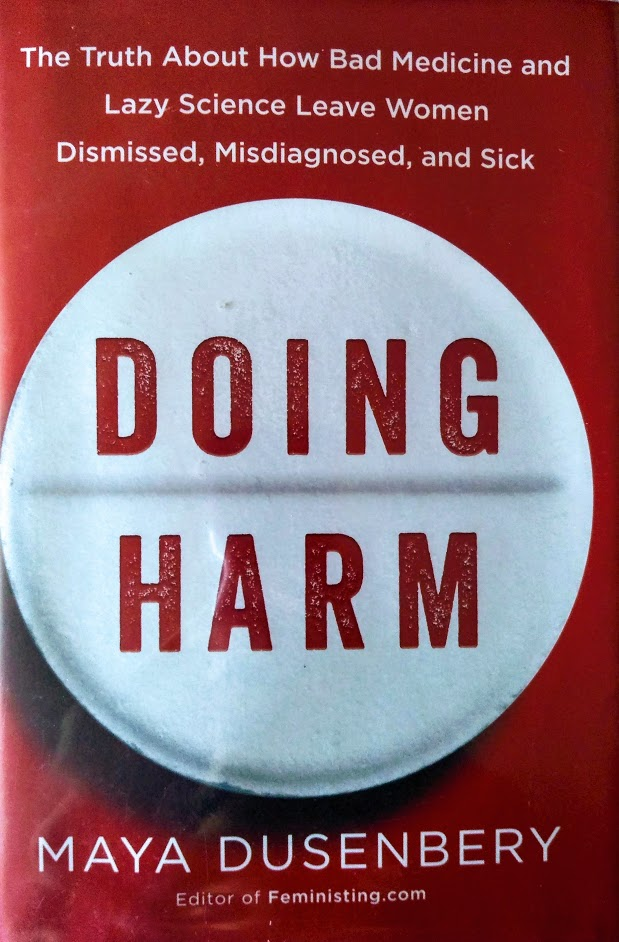 Book cover of Doing Harm by Maya Dusenbery