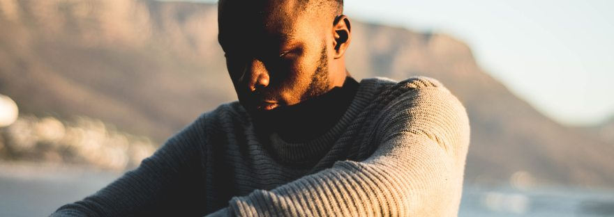 How to find a therapist stressed man