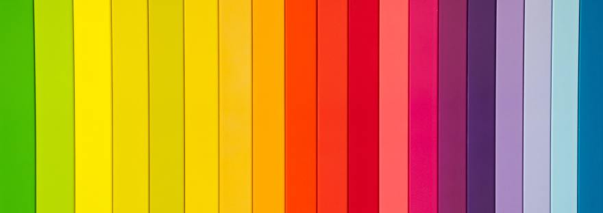 Bright colorful stripes Myers Briggs